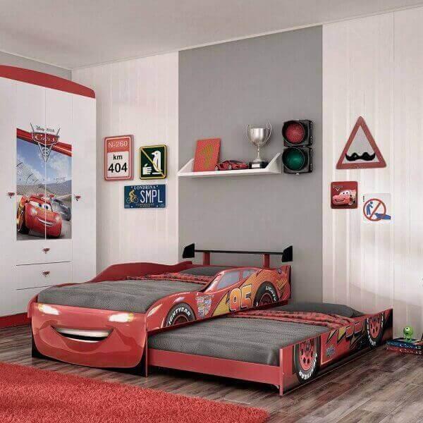 Bicama infantil carros