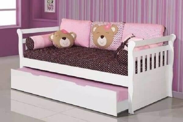 Bicama infantil rosa