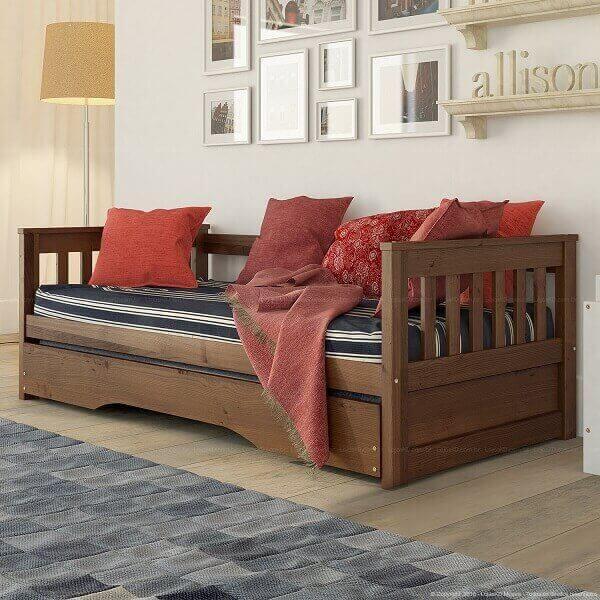 Bicama sofá de madeira