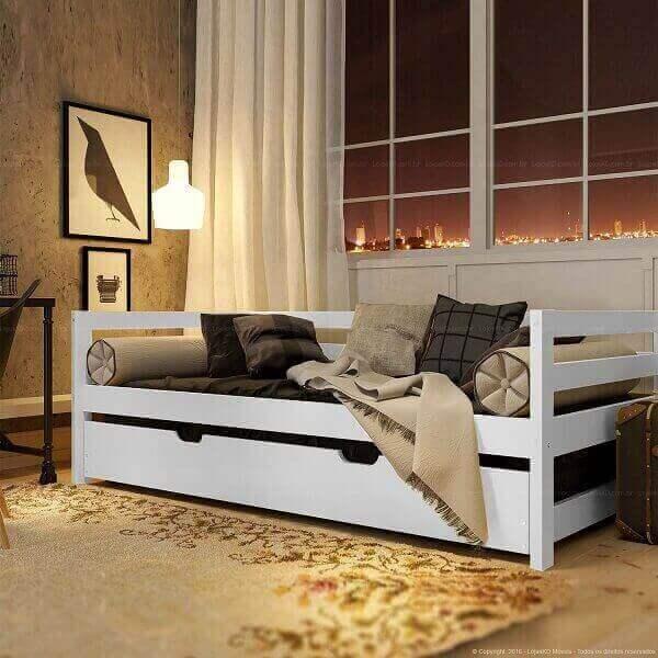 Bicama sofá para espaço pequeno