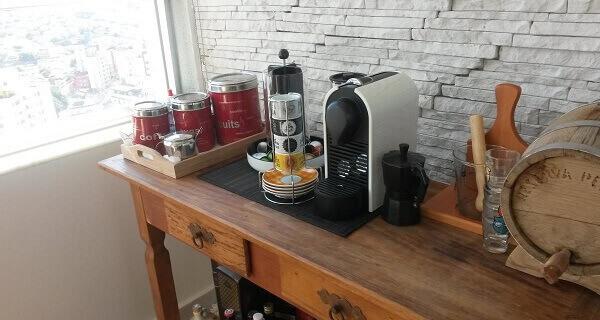 Cantinho do café decoração simples