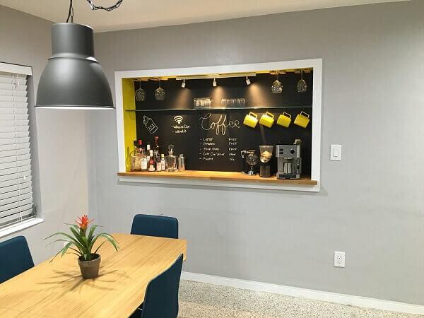 Cantinho do café decorado