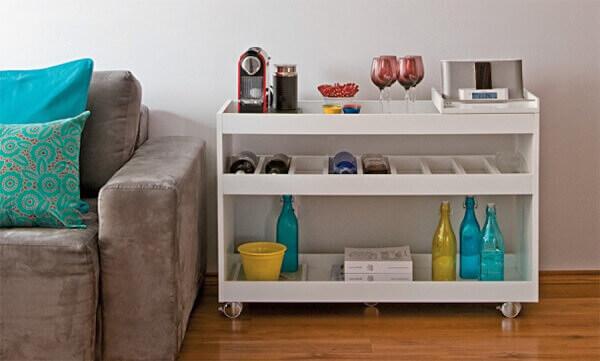 Cantinho do café para apartamento