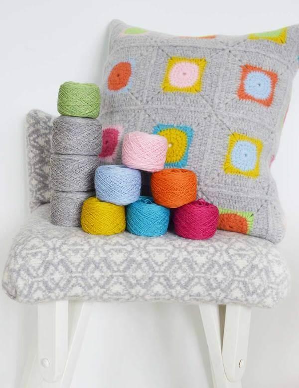 Como fazer capa de almofada de crochê