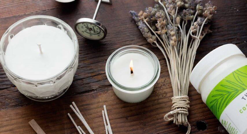 Como fazer velas com aroma