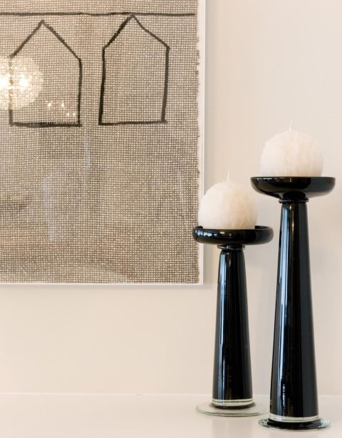 Como fazer velas decorativas para a sala Projeto de Marilia Veiga