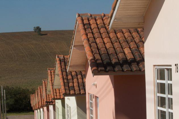 Construção de casas populares