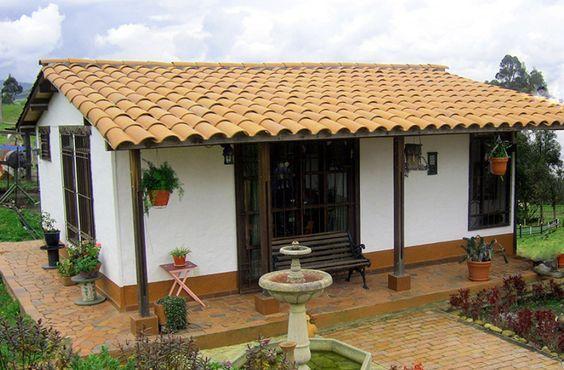Construção de casas rústica