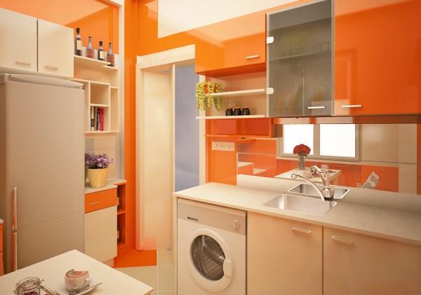 Cores para cozinha laranja