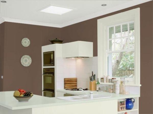 Cores para cozinha moderna marrom