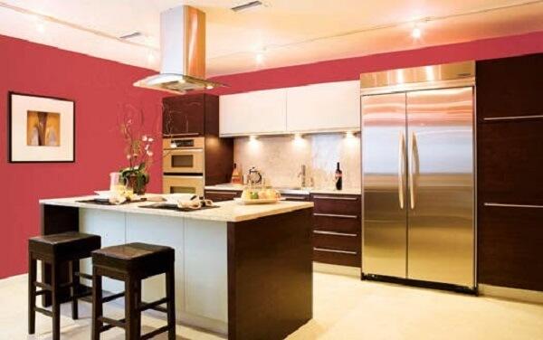 Cores para cozinha vermelho