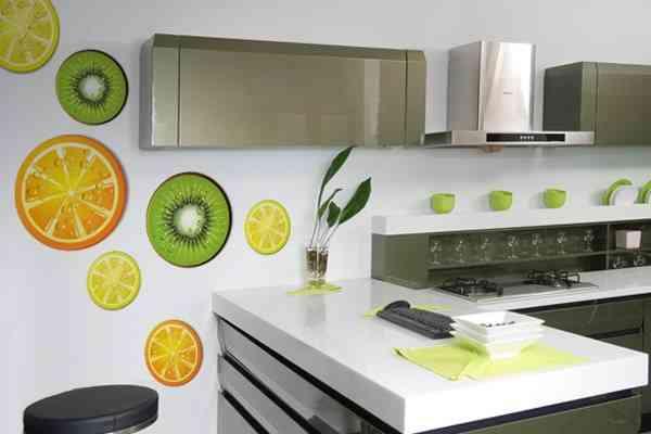 Enfeites para cozinha adesivos