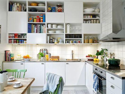 Enfeites para cozinha com nichos
