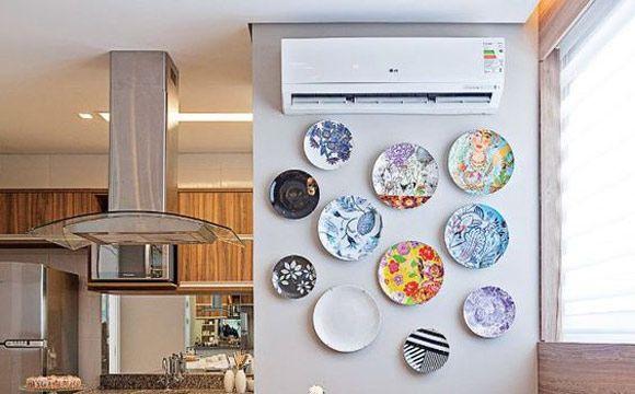 Enfeites para cozinha pratos decorativos
