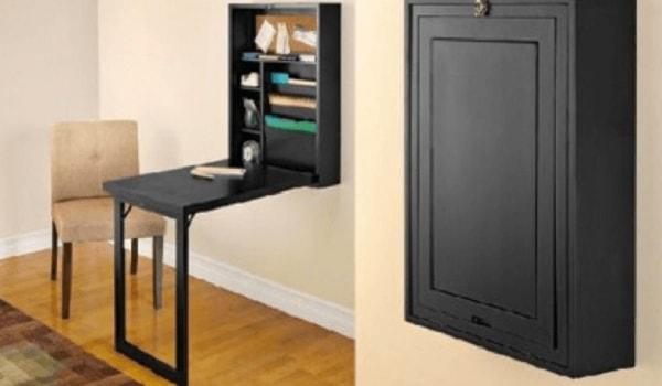 mesa dobrável para apartamentos pequenos