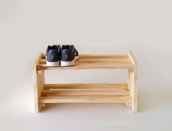 Modelo de sapateira caixote de frutas