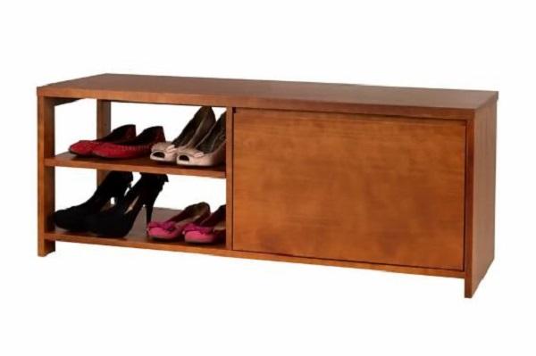 Modelo de sapateira em cômoda