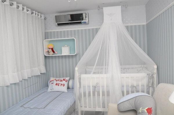 Modelos de berço com mosquitero de teto