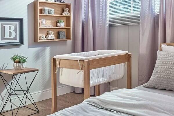 Modelos de berço moises de madeira para quarto