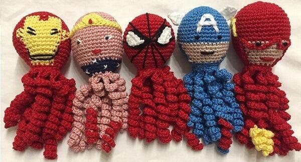 Amigurumi The Amigurumi Avengers – Super Hero Crochet Recipe ... | 323x600