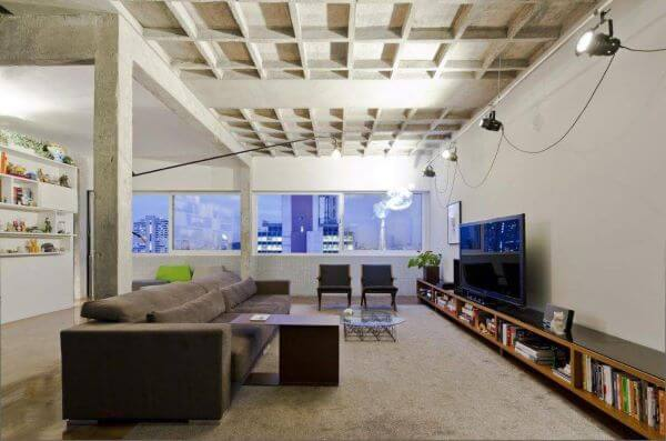 Rack para sala de estar