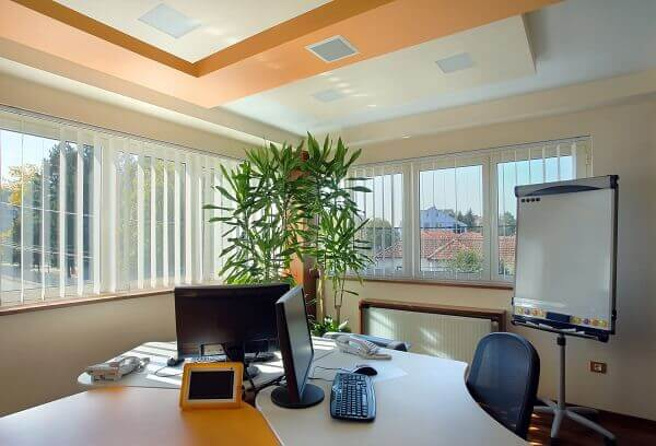 Studio Área de escritório