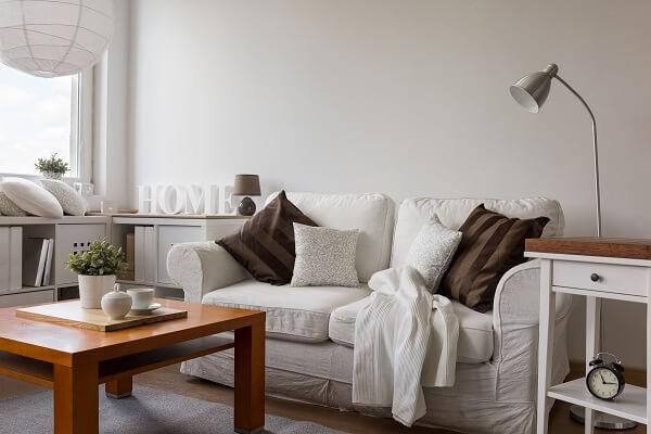 Studio decoração minimalista