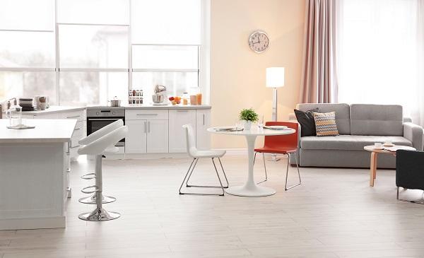 Studio móveis com divisórias