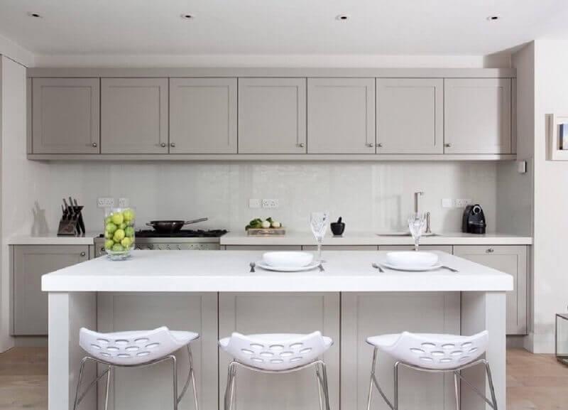 armários de cozinha americana moderna