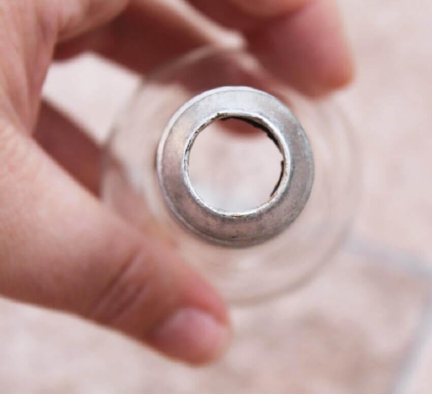 artesanato com lâmpada para dia dos namorados