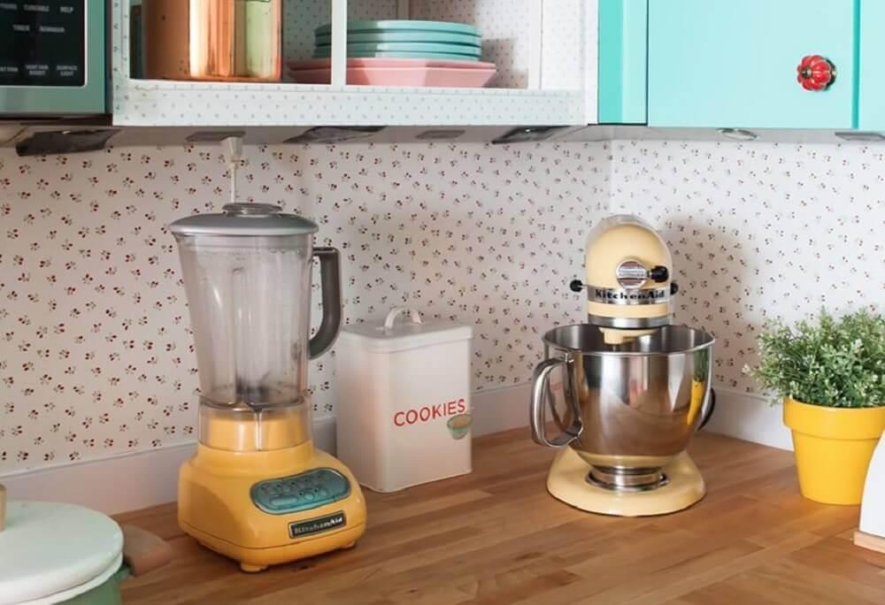 bancada para cozinha decorada