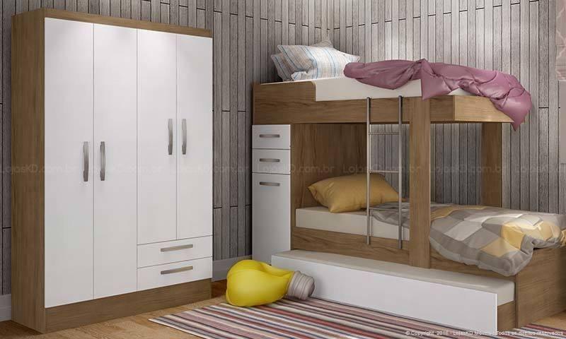 bicama - quarto com beliche bicama