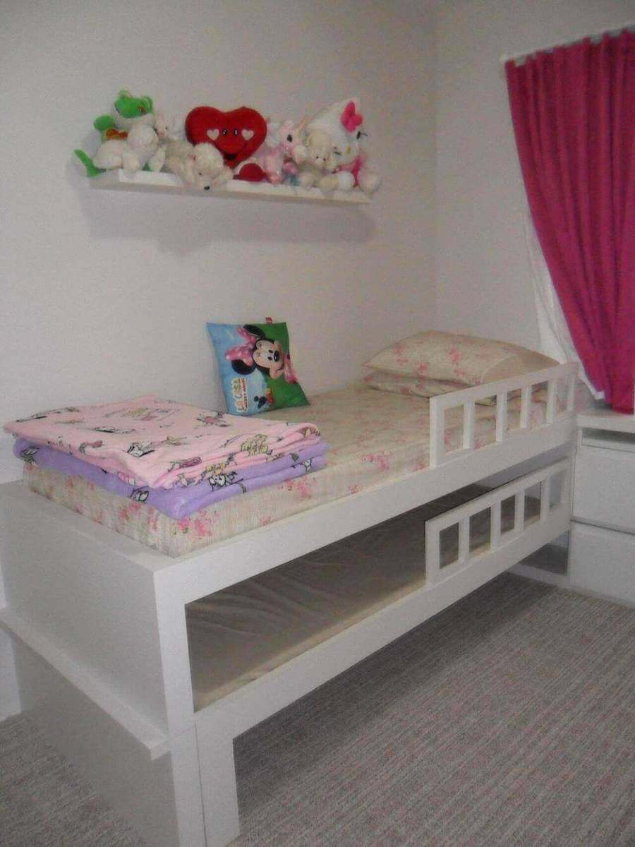 bicama - quarto infantil com bicama
