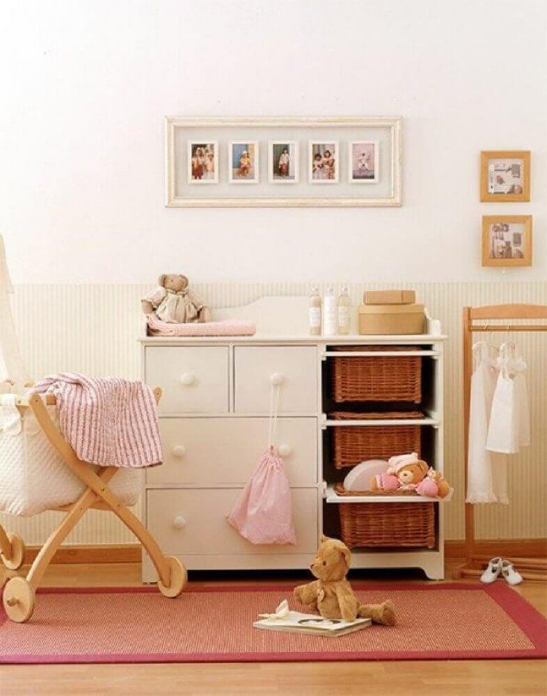 cômoda para quarto de bebê