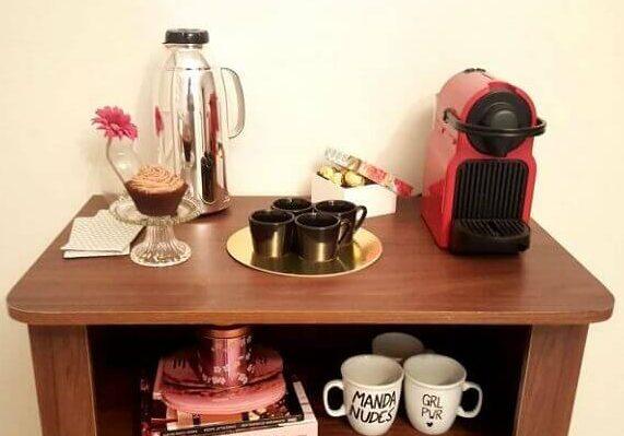 cantinho do café aconchegante