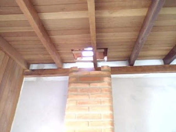 como fazer churrasqueira telhado