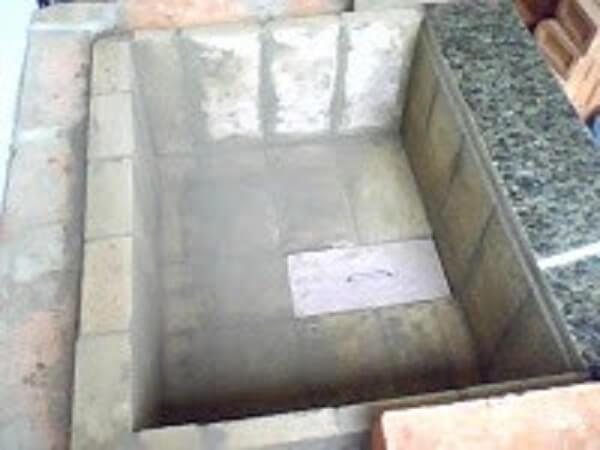 como fazer churrasqueira tijolinhos