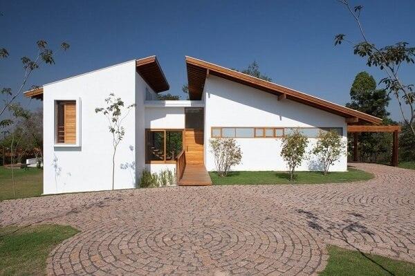 construção de casas barata com estilo moderno