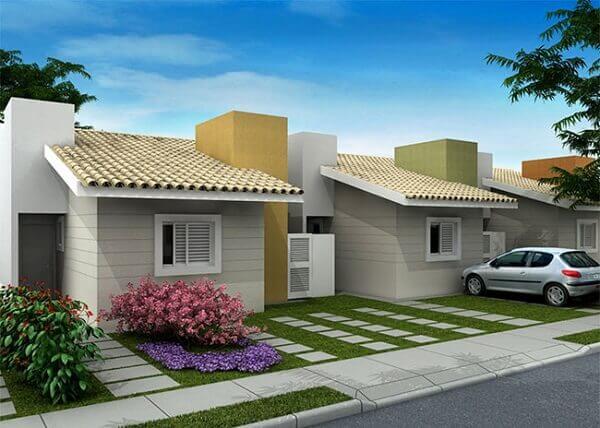 construção de casas geminadas