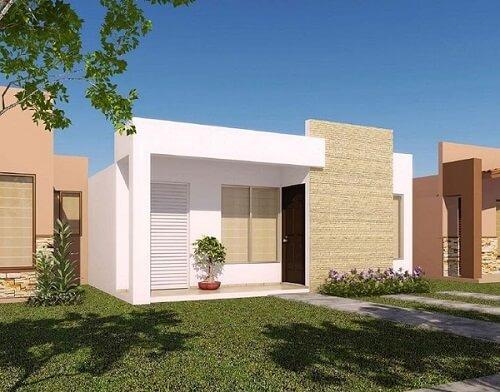 construção de casas moderna