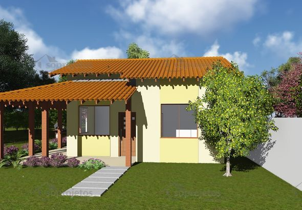 construção de casas projeto