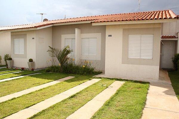 construção de casas simples sem garagem