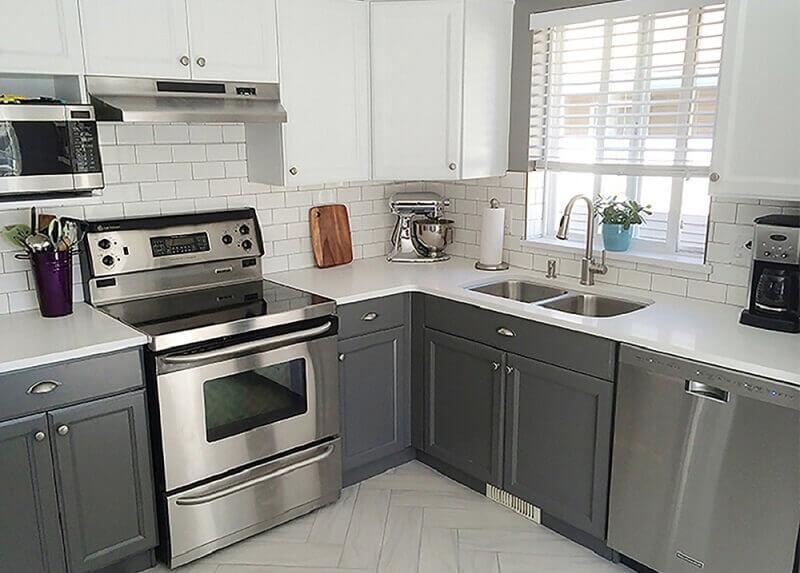 decoração com armário de cozinha