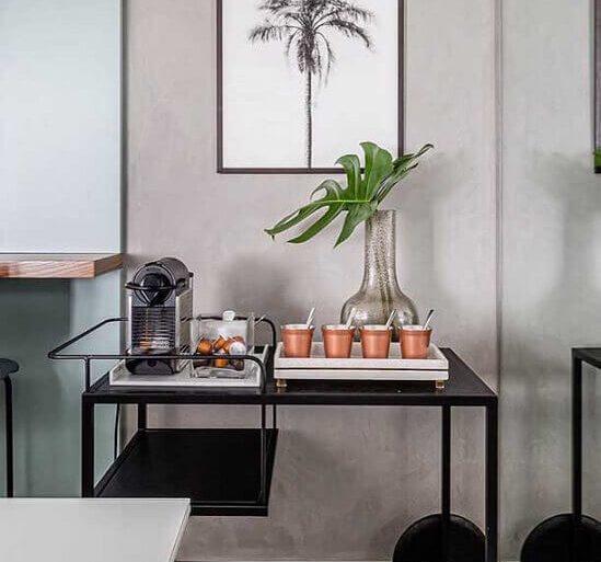 decoração moderna para cantinho do café Foto Pinterest