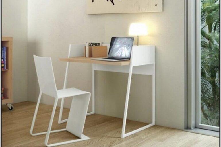 escrivaninha simples pequena com design moderno