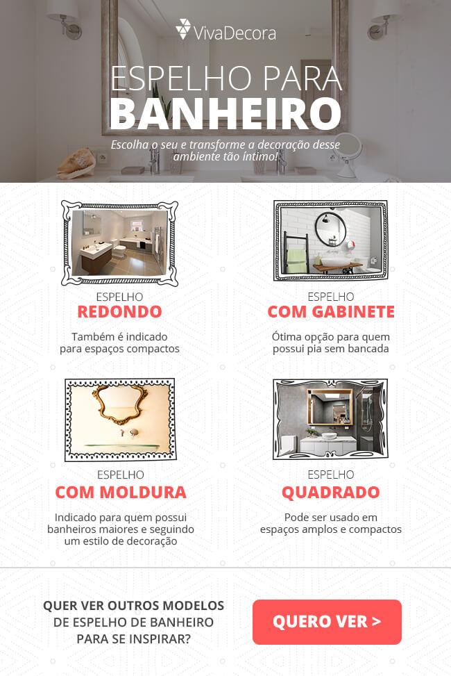 Infográfico - Espelho para banheiro