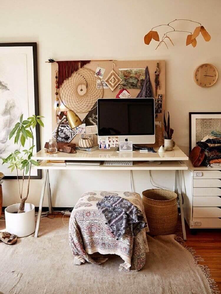estilo simples para home office pequeno