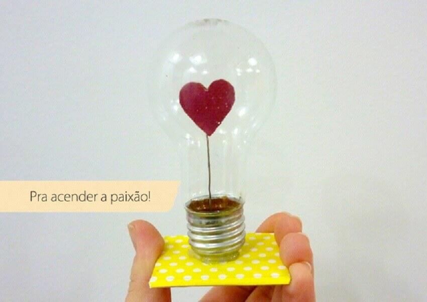 lampada do amor - presente de dia dos namorados