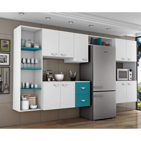 As cores dos móveis modulados podem ficar ainda mais bonitas