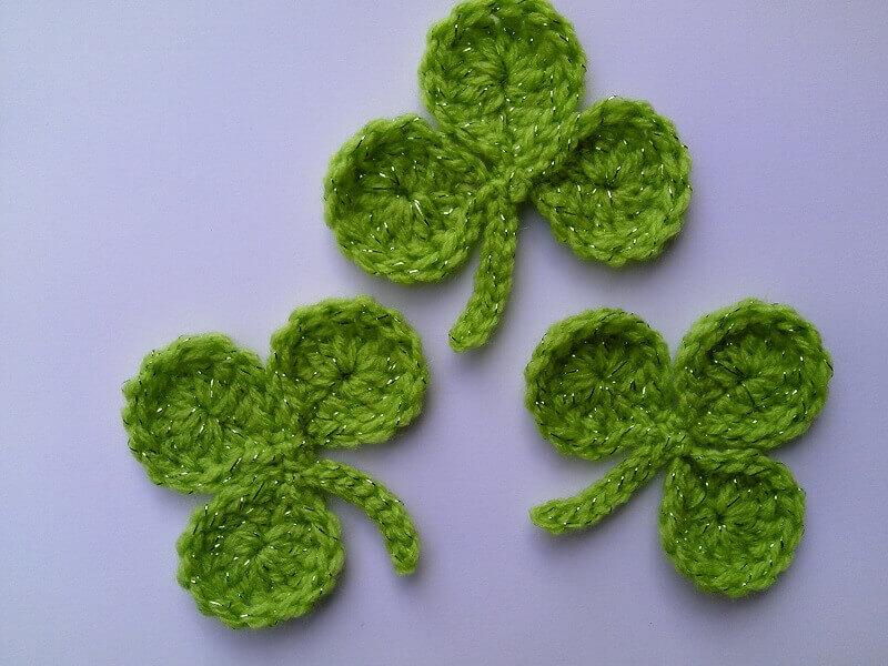 maneiras de como fazer folha de crochê